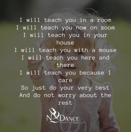 N2 Dance - Online Dance Classes Poem